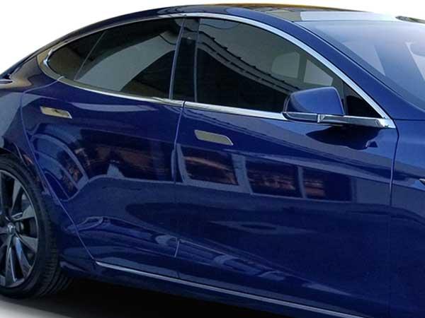 Tesla Window Tint by The EV Studio
