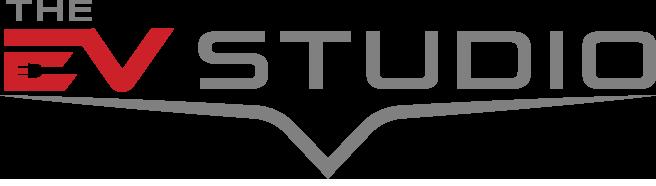 The EV Studio Logo Grey