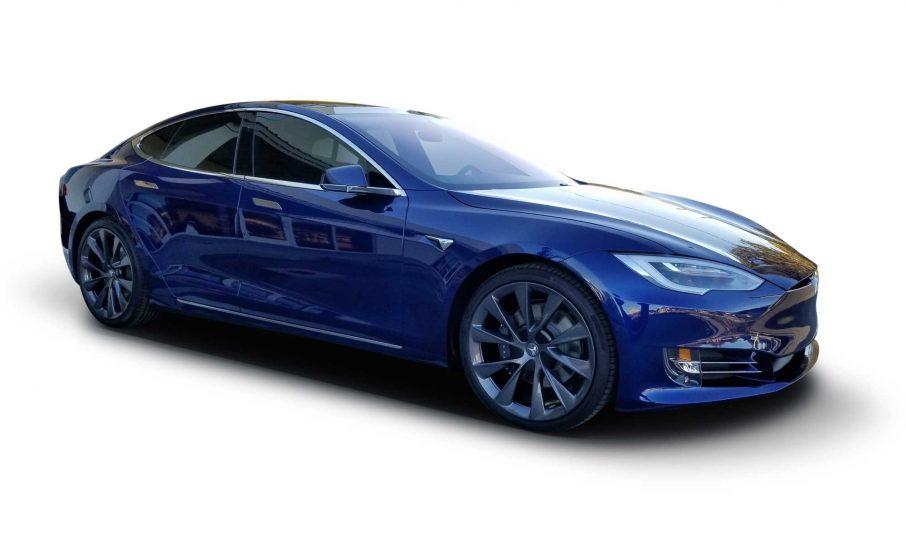 The EV Studio | Window Tint on Tesla Cars